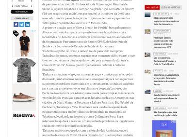 Alisson - O Fluminense - 08/04/2021