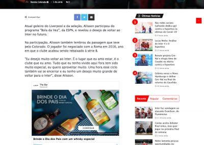 Alisson - Revista Colorada - 02/08/2020
