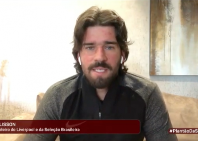 Alisson - TV Gazeta - 07/04/2020
