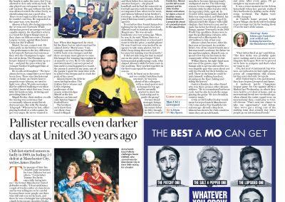 Alisson - Telegraph - 20/10/2019