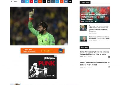 Alisson - Time 24 - 30/03/2020