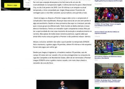 Alisson - Yahoo - 03/01/2020