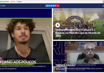 André Ramalho - Destaque Globoesporte.com - 21/04/2020