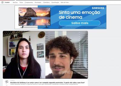 André Ramalho - ESPN - 01/06/2020
