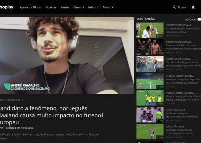 André Ramalho - Esporte Espetacular - 09/02/2020