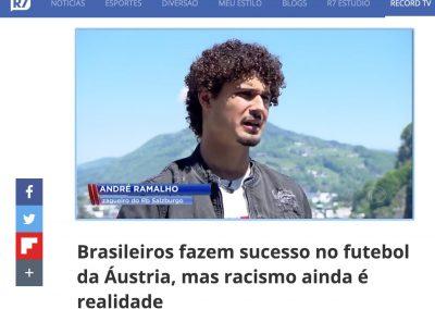 André Ramalho - Jornal da Record - 07/06/2019
