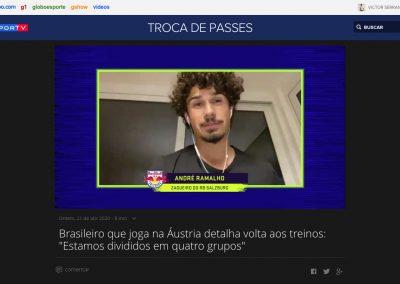 André Ramalho - Troca de Passes - 21/04/2020