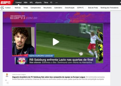 André Ramalho - ESPN - 22/03/2018