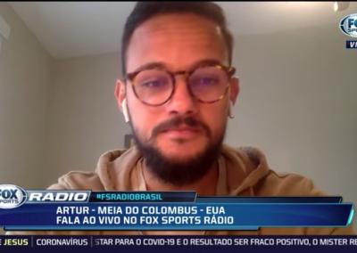Artur - Fox Sports - 19/03/2020