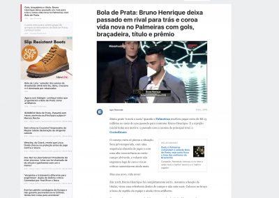 Bruno Henrique - Bola de Prata - 03/12/2018