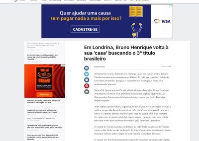 Bruno Henrique - ESPN - 17/11/2018