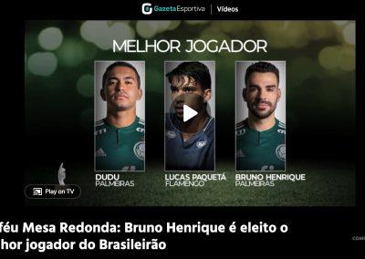 Bruno Henrique - Gazeta Esportiva - 04/12/2018
