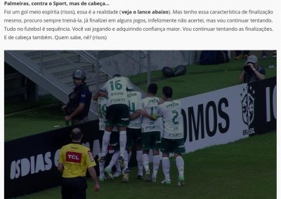 Bruno Henrique - Globo Esporte - 08/08/2017