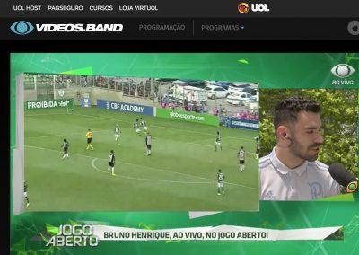 Bruno Henrique - Jogo Aberto - Dezembro/2018