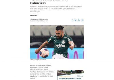 Bruno Henrique - A Gazeta - 01/10/2020