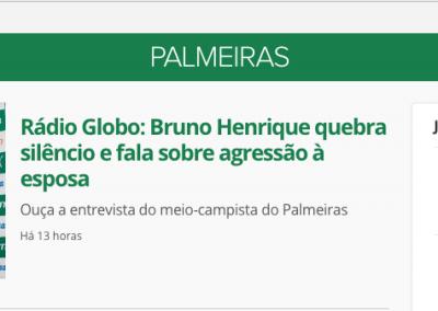Bruno Henrique - Destaque Globoesporte.com - 13/11/2019