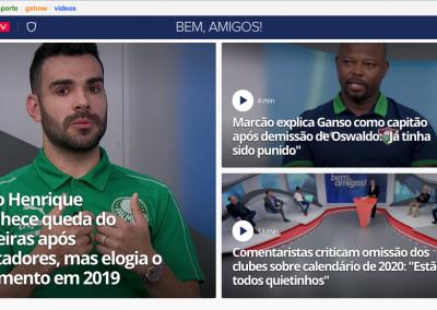 Bruno Henrique - Destaque Globoesporte.com - 15/10/2019