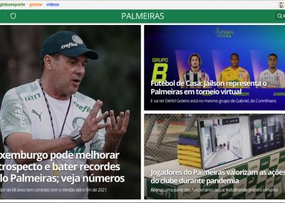 Bruno Henrique - Destaque Globoesporte.com - 17/05/2020