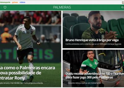 Bruno Henrique - Destaque Globoesporte.com - 18/02/2020