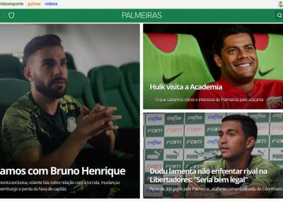 Bruno Henrique - Destaque Globoesporte.com - 19/02/2020