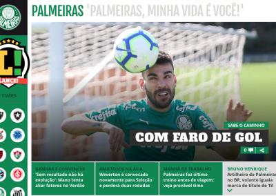 Bruno Henrique - Destaque Lance - 20/09/2019