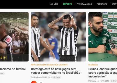 Bruno Henrique - Destaque Rádio Globo - 13/11/2019