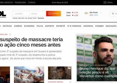 Bruno Henrique - Destaque Uol - 19/03/2019