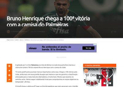 Bruno Henrique - Digital Esportes - 01/10/2020