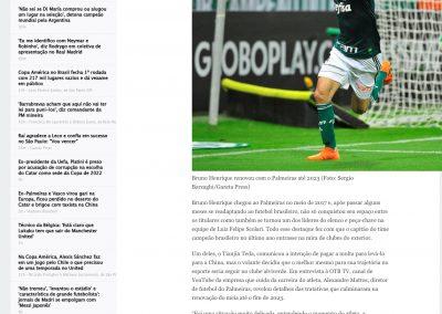 Bruno Henrique - ESPN - 17/06/2019