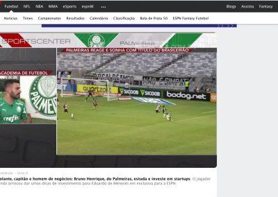 Bruno Henrique - ESPN - 18/09/2019