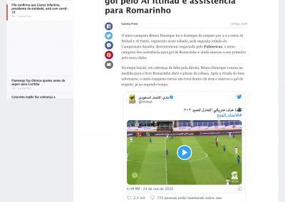Bruno Henrique - ESPN - 24/10/2020