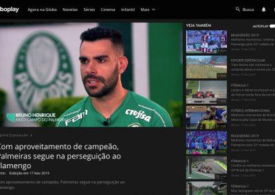 Bruno Henrique - Esporte Espetacular - 17/11/2019