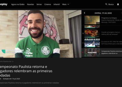 Bruno Henrique - Esporte Espetacular - 19/07/2020