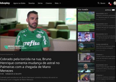 Bruno Henrique - Esporte Espetacular - 22/09/2019