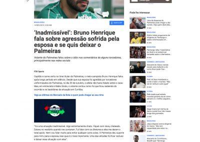 Bruno Henrique - Fox Sports - 14/11/2019