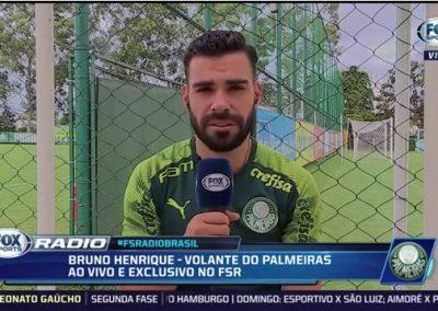 Bruno Henrique - Fox Sports - 26/02/2020