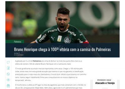 Bruno Henrique - Gazeta - 01/10/2020