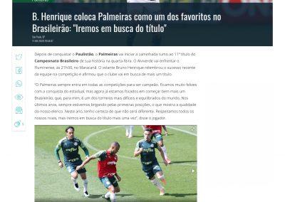 Bruno Henrique - Gazeta - 11/08/2020