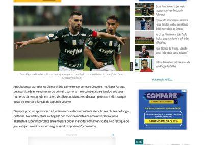 Bruno Henrique - Gazeta - 20/09/2019