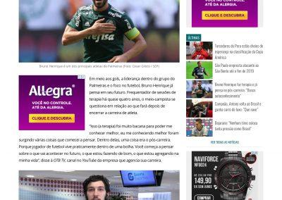 Bruno Henrique - Gazeta Esportiva - 18/06/2019