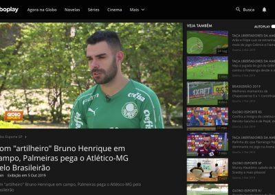 Bruno Henrique - Globo Esporte - 05/10/2019