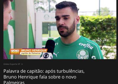 Bruno Henrique - Globo Esporte - 13/09/2019