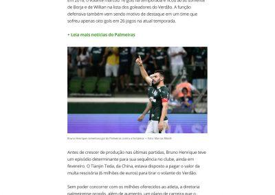Bruno Henrique - Globoesporte.com - 18/05/2019