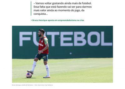 Bruno Henrique - Globoesporte.com - 21/04/2020