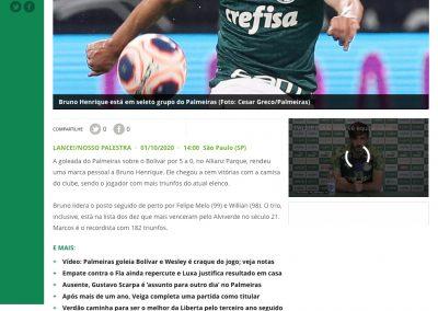 Bruno Henrique - Lance - 01/10/2020