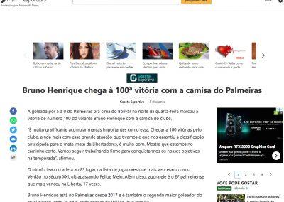 Bruno Henrique - MSN - 01/10/2020