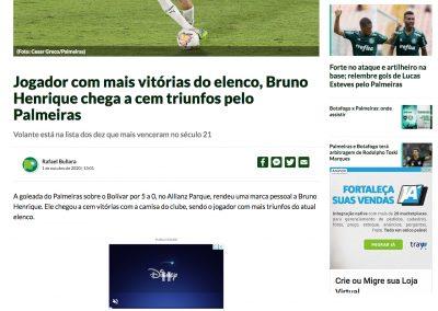 Bruno Henrique - Nosso Palestra - 01/10/2020