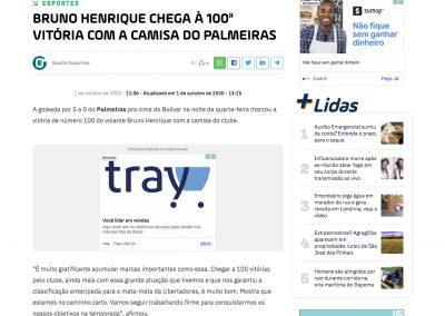 Bruno Henrique - Ric Mais - 01/10/2020