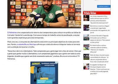 Bruno Henrique - Sportbuzz - 16/05/2020