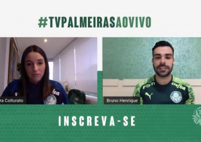 Bruno Henrique - TV Palmeiras - 15/05/2020